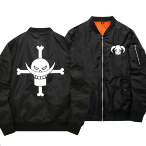 Boutique One Piece Bomber xs Bomber One Piece Barbe Blanche