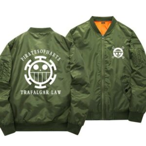 Boutique One Piece Bomber xs Bomber One Piece Logo Law