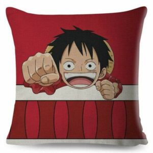 Boutique One Piece Coussin Coussin One Piece Petit Luffy