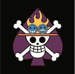 Boutique One Piece Drapeau Ace / 100x100cm Drapeau Portgas D Ace
