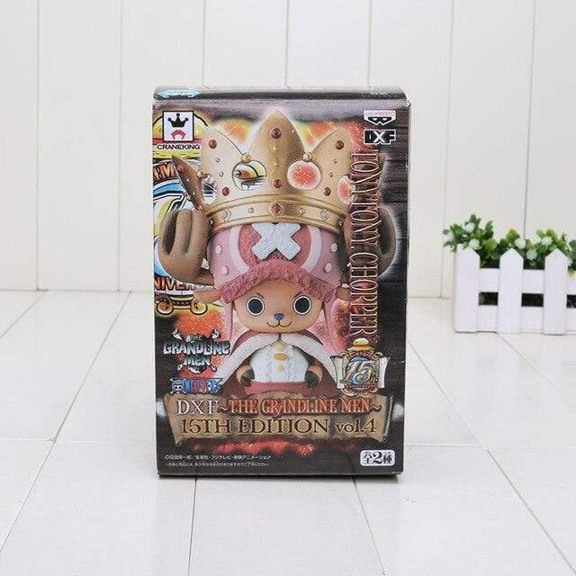Boutique One Piece Figurine One Piece 4 in box Figurine Chopper Le Roi Des Animaux