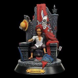 Boutique One Piece Figurine One Piece Figurine One Piece L'Empereur Shanks Sur Son Trone