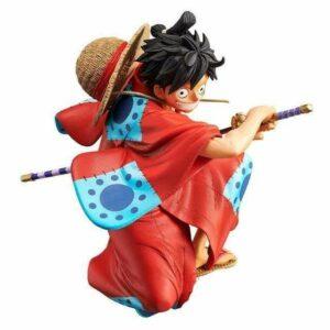 Boutique One Piece Figurine One Piece Figurine One Piece Luffy Samouraï Combat à l'&pée Wano Kuni