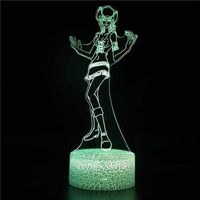 Boutique One Piece Lampe One Piece Lampe 3D Led Nico Robin