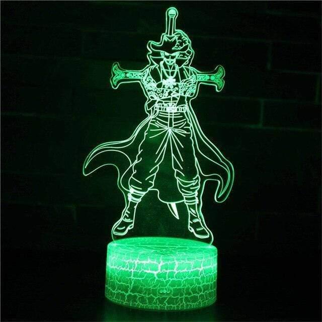 Boutique One Piece Lampe One Piece Lampe 3d Led Œil De Faucon