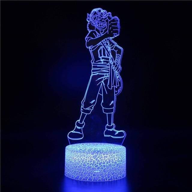 Boutique One Piece Lampe One Piece Lampe 3D Led Ussop Le Sniper