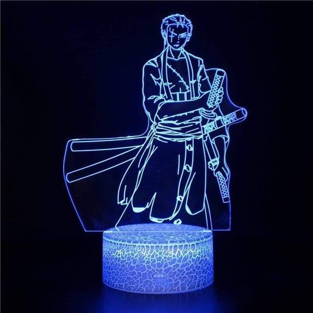 Boutique One Piece Lampe One Piece Lampe Led 3d One Piece Zorro Nouveaux Monde