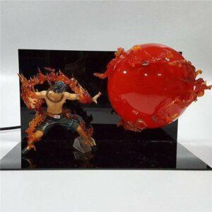 Boutique One Piece Lampe One Piece Petites Flammes Lampe One Piece Portgas D Ace Boule de Feu