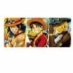 Boutique One Piece Poster Lot De 3 Poster One Piece La Fratrie Du Mont Corvo