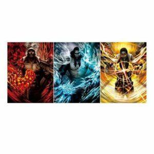 Boutique One Piece Poster Lot De 3 Poster One Piece Les 3 Amiraux De La Marine