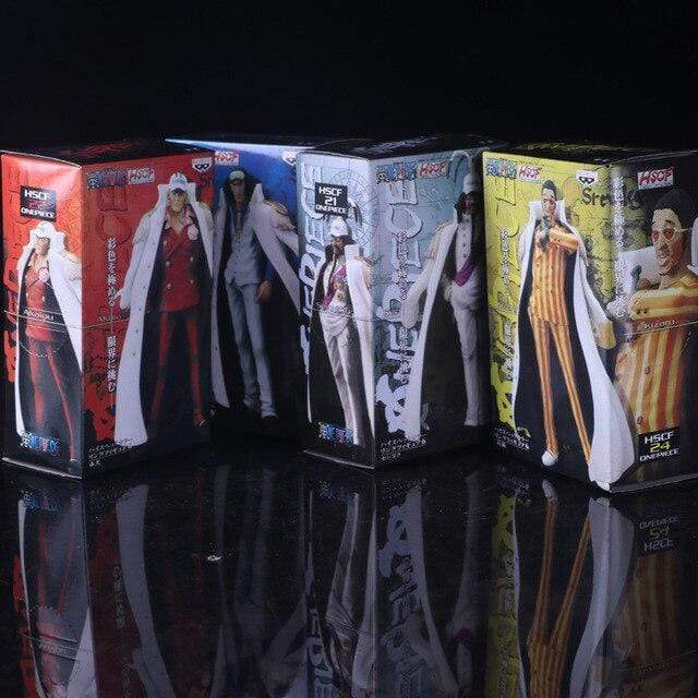 Boutique One Piece Figurine One Piece Lot De 4 Figurine Les Amiraux De La Marine