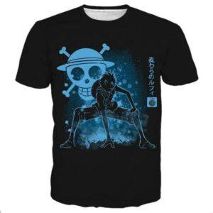 Boutique One Piece T-shirt xxl Maillot Imprimé One Piece Luffy Gear