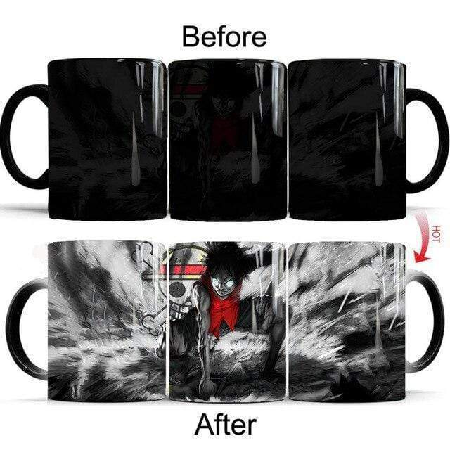 Boutique One Piece Mug Mug Magique One Piece Dark Luffy