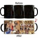 Boutique One Piece Mug Mug Magique One Piece Luffy Wanted