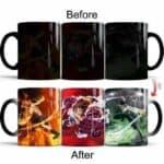 Boutique One Piece Mug Mug Magique One Piece Zoro Ace Et Luffy Gear Fourth