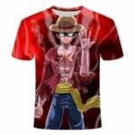 Boutique One Piece T-shirt S One Piece Mugiwara No Luffy Gear Second