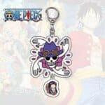 Boutique One Piece Porte Clef One Piece Symbole De Robin