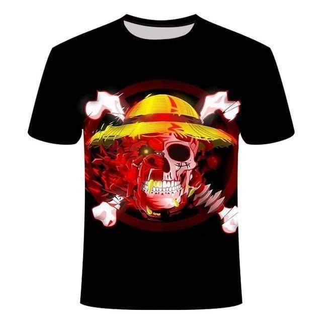 Boutique One Piece T-shirt 130 One Piece T Shirt Crane Au Chapeau De Paille