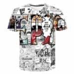 Boutique One Piece T-shirt 3XL One Piece T shirt Manga