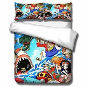 Boutique One Piece Parures De Lit 180x210cm Parures De Lit One Piece L'Aventure De Luffy