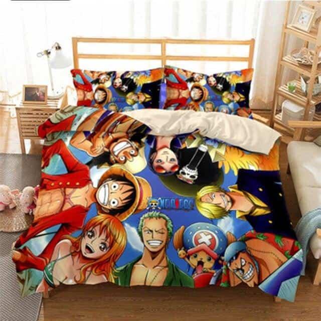 Boutique One Piece Parures De Lit 230x260cm Parures De Lit One Piece L'Equipage des Mugiwara
