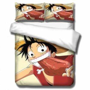 Boutique One Piece Parures De Lit 135x200cm Parures De Lit One Piece La Faim De Luffy