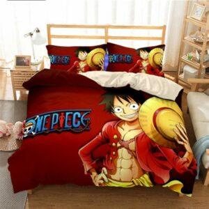 Boutique One Piece Parures De Lit 230x260cm Parures De Lit One Piece Le Futur Roi des Pirates