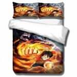 Boutique One Piece Parures De Lit 210x210cm Parures De Lit One Piece Luffy Aokiji Et Barbe Noire