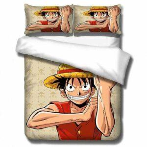 Boutique One Piece Parures De Lit 220x240cm Parures De Lit One Piece Luffy De La Pire Génération