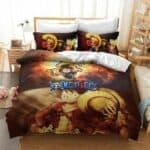 Boutique One Piece Parures De Lit 200x200cm Parures De Lit One Piece Luffy La Supernova