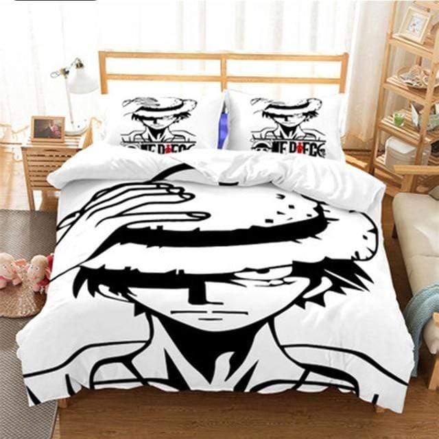 Boutique One Piece Parures De Lit 230x260cm Parures De Lit One Piece Monkey D Luffy