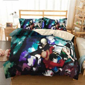 Boutique One Piece Parures De Lit 230x260cm Parures De Lit One Piece Monster Trio des Mugiwara