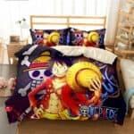 Boutique One Piece Parures De Lit 230x260cm Parures de Lit One Piece Mugiwara no Luffy