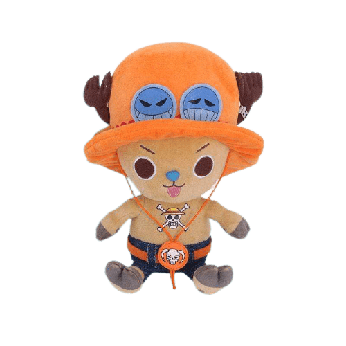 Boutique One Piece Peluche 25cm Peluche Chopper Cosplay Portgas D Ace