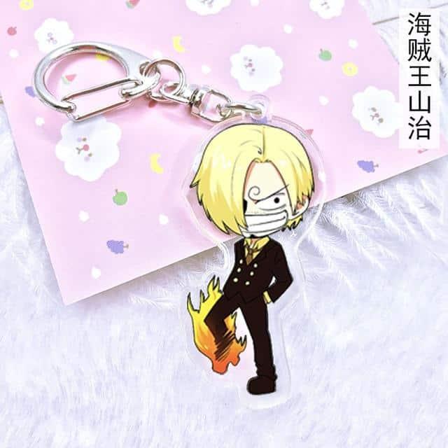 Boutique One Piece Porte Clef Porte Clef  One Piece Sanji Kun