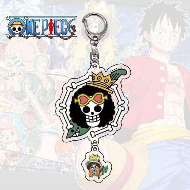 Boutique One Piece Porte Clef Porte Clef One Piece Symbole Brook