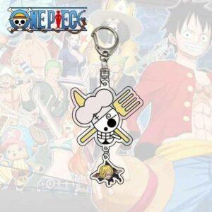 Boutique One Piece Porte Clef Porte Clef One Piece Symbole De Sanji