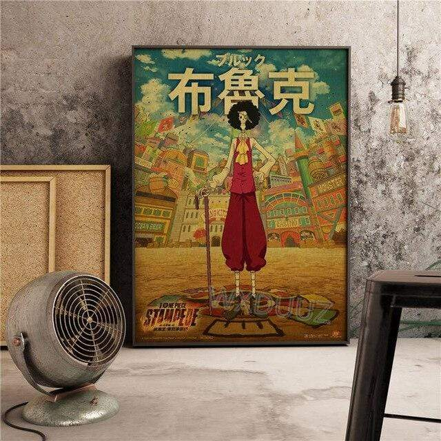 Boutique One Piece Poster 55x80cm Poster One Piece Brook