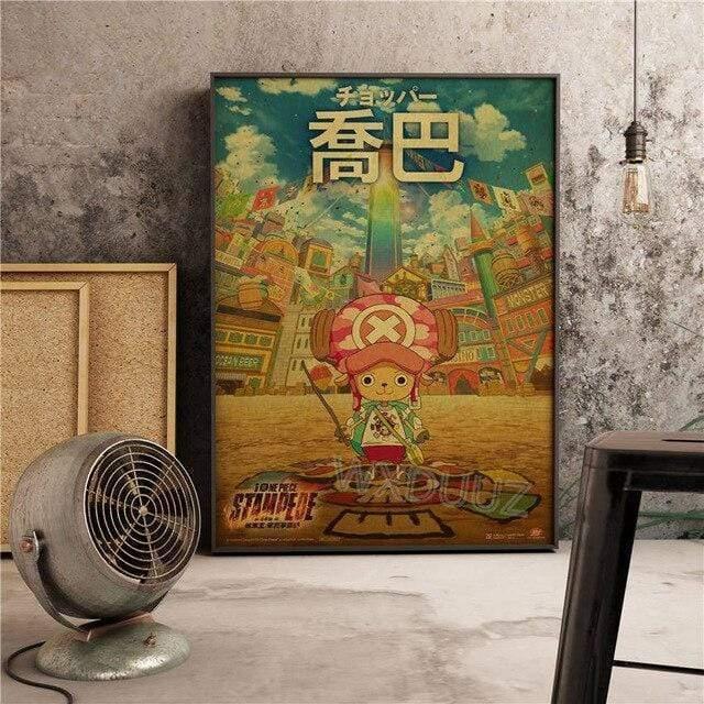 Boutique One Piece Poster 55 x 80 cm Poster One Piece Docteur Tony Tony Chopper