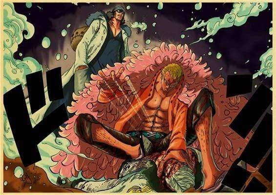 Boutique One Piece Poster 12x20 cm Poster One Piece Don Quichotte Doflamingo