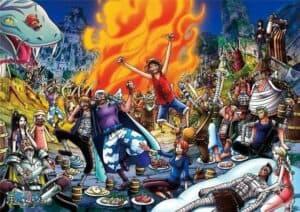 Boutique One Piece Poster 42X30cm Poster One Piece Fête A Skypiea