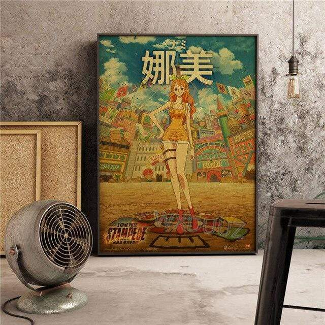 Boutique One Piece Poster 55x80cm Poster One Piece Nami