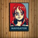 Boutique One Piece Poster 55x80cm Poster One Piece Navigatrice Nami
