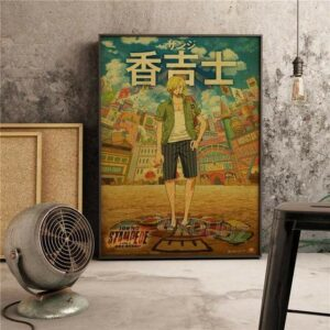 Boutique One Piece Poster 21 X 30 cm Poster One Piece Sanji