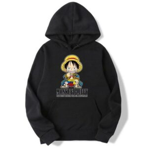 Onepiece-Shops Pull Noir / s Pull  One Piece Mini Monkey D. Luffy