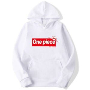 Onepiece-Shops Pull Blanc / s Pull  One Piece Supreme