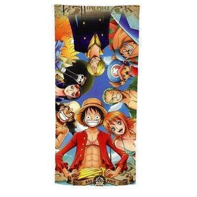 Boutique One Piece Serviette 50x100cm Serviette One Piece Les Chapeaux De Paille