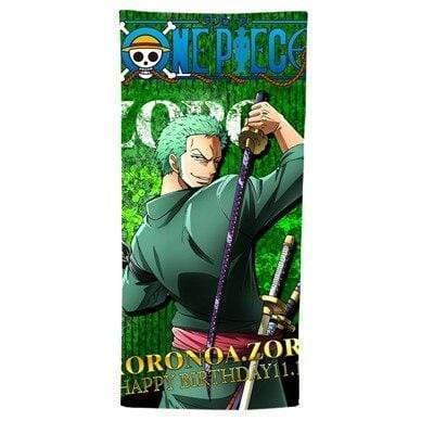 Boutique One Piece Serviette 50x100cm Serviette One Piece Roronoa Zoro
