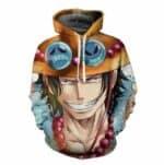 Boutique One Piece Sweat XXXL Sweat One Piece Ace Le Grand Frère de Luffy