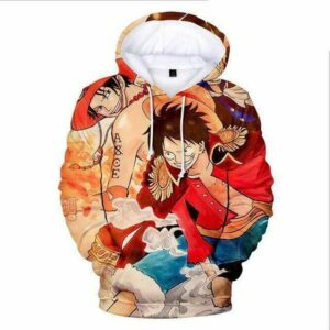 Boutique One Piece Sweat XXS Sweat One Piece Ace, Sabo et Luffy